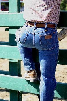 sexy wrangler butt