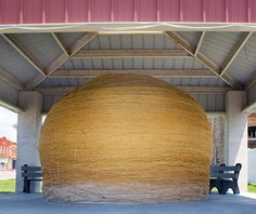 World's Largest Ball of Twine, Cawker City, KS