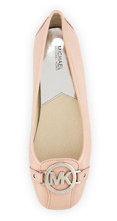 Michael Kors Leather Moccasin