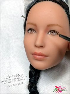 Artist Re-Paints Hunger Games Barbie Doll and Now She Looks Just Like Katniss | moviepilot.com