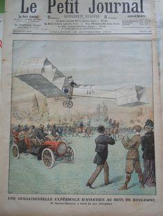 Old Print 1906 Santos Dumont Airplane Pilot Brasil Brazil Brésil Aviation Avion   eBay