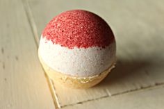 Bath Bomb  Strawberry Shortcake by PiscesPieces on Etsy, $5.00