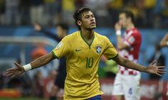 WC 2014 Brazil 3-1 Croatia: Neymar scores twice as hosts start with a win. jun 6