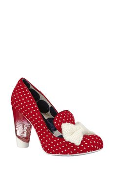 41e5e5896b1fa Chaussures à talon Bowtiful Rouge Irregular choice sur MonShowroom.com