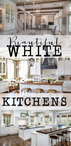 Beautiful White Kitc