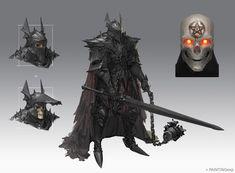 The Black Knight, PAINTINGexp (Kevin) on ArtStation at https://www.artstation.com/artwork/3b1kB