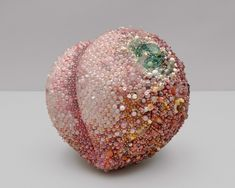 Moldy Fruit Sculptures Formed From Precious Gemstones Challenge Perceptions of Decoration and Decay Fruit Sculptures, Rotten Fruit, Visual Arts Center, Colossal Art, Fruit Art, Art Studios, Art World, Decay, New Art