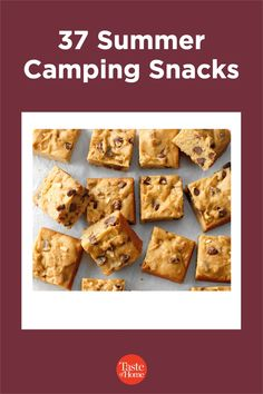 If you're planning on spending time in the great outdoors, be sure to pack a few of these camping snacks that are sure to satisfy any cravings.