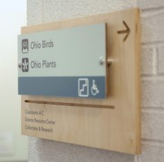 #Wayfinding and #signage: Wayfinding System for the Cleveland Museum of Natural History