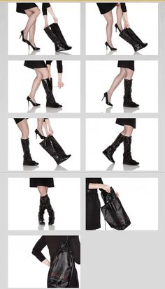 Fashion-Forward Galoshes to Protect High Heels