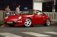 Rare colour. Porsche 993 - Red