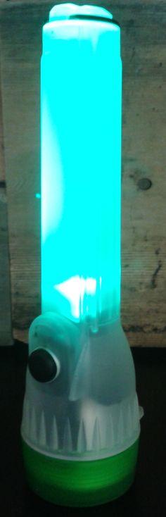 LED Flash Light.  It lights, it glows, it blinks! #40168 | 9.95
