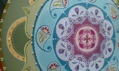 ♥ 6 - 90cm - Mandala Disponível para pronta entrega