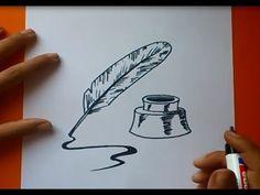 Como dibujar un libro paso a paso | How to draw a book - YouTube