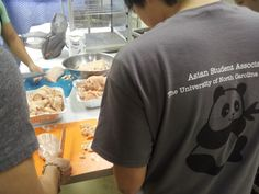 food prep for ASA international festival