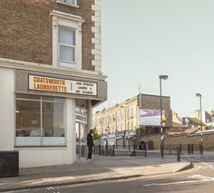 CHATSWORTH ROAD chatsworth launderette 2013 corner of rushmore road homerton hackney london uk ©chris dorley-brown Long Way Round, Street View, Fine Art, London, Brown, Laundry, Shops, Corner, Beautiful