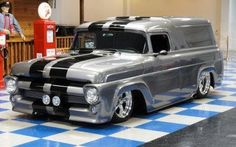 Cool truck 57 Ford Panel