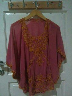 Kalong korneli Kebaya Encim Modern, Blouse, Long Sleeve, Model, Sleeves, Tops, Fashion, Moda, Long Dress Patterns