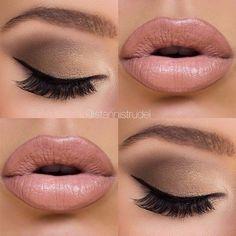Gorgeous Makeup: Tips and Tricks With Eye Makeup and Eyeshadow – Makeup Design Ideas Kiss Makeup, Cute Makeup, Gorgeous Makeup, Hair Makeup, Makeup Lipstick, Makeup Set, Eyebrow Makeup, Wedding Hair And Makeup, Bridal Makeup