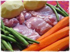 Cocinando con gusto: Papilla de pollo para bebés de 6 meses