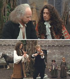 Restoration (1995) Starring: Ian McDiarmid as Ambrose and Robert Downey, Jr. as Robert Merivel.