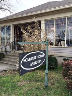 Scarlett Scales Antiques