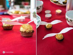 golden snitch , goldene schnätze Selbermachen