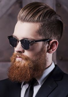 30 Men's Hairstyles with Beards 2018