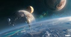 "Sci Fi Generation — ART: ""NXP Project"" by Jessica Rossier"