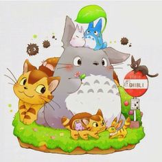 > Ghibli Cutes <3