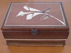 First Box - First everything. Handmade Jewellery Box - by Flemming @ LumberJocks.com ~ woodworking community