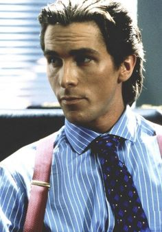 see what i mean when i say i only found Christian Bale attractive when he was Patrick Bateman?