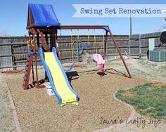 swing set renovation