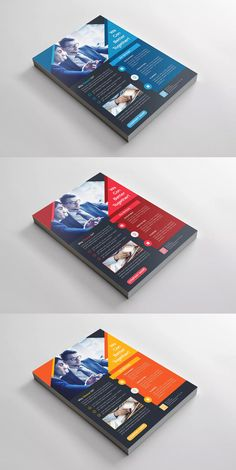 Corporate Flyer Template EPS