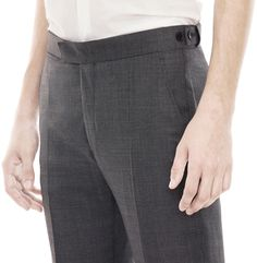 Acne Wall Street Trouser Shark Grey