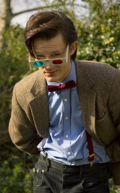 Can you believe this is a cosplay???? That's not actually Matt Smith!