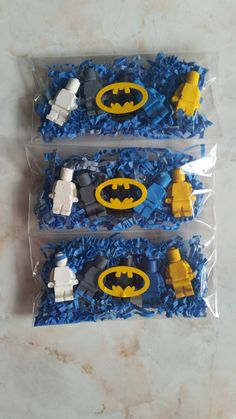 Lego Batman Crayons Set of 5 - party favors