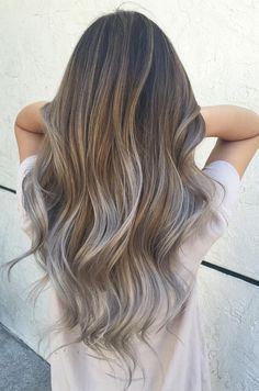 Top Winter Melt Hair Colors Ideas 2018 for Women