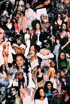 Discovered by - L. Find images and videos about wallpaper and rihanna on We Heart It - the app to get lost in what you love. Mode Rihanna, Rihanna Love, Rihanna Riri, Rihanna Style, Rapper Wallpaper Iphone, Rap Wallpaper, Dope Wallpapers, Celebrity Wallpapers, Girl Bands