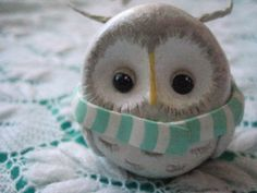 Owls with Scarves (from the Craftster Community)