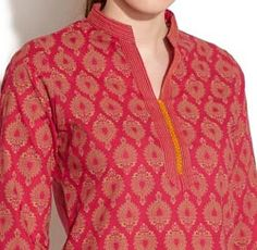 Simple-Chinese-Collar-Neck-Gala-Designs-Style-2015-for-Kurtis-Shirts-Salwar-Kameez