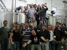 Visita da primeira turma à Cervejaria Klein #cerveja #beer
