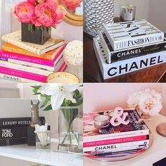A decoração com livros é um modo bem charmoso de deixar a decor da casa ainda mais linda com itens que você já tem em casa. Confira as inspirações !