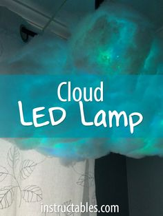 A fun project that can be tackled in only a few hours. Use it as a night light or a decoration.