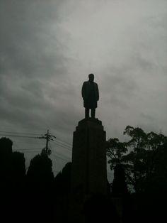 @azmitter 銅像 #namaburu