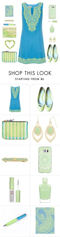 """""""Endless daydream of summer"""" by molly2222 ❤ liked on Polyvore featuring Bella Tu, Marc Jacobs, Comme des Garçons, Liz Claiborne, Henri Bendel, Casetify, Pixi and Moleskine"""
