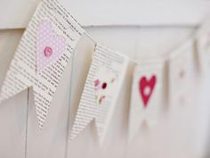 Valentine's Day Bunting | Kids Crafts & Activities for Children | Kiwi Crate
