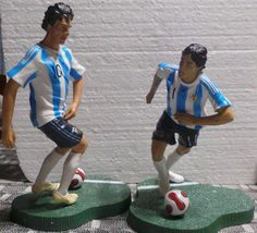 LOT 2 PLAYERS  MESSI AND TEVEZ  WORLD CUP FIFA 2010 SELECCION ARGENTINA   | eBay