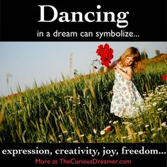 dancing dream symbol in The Curious Dreamer Dream Dictionary What Your Dreams Mean, What Dreams May Come, Lucid Dreaming, Dreaming Of You, Facts About Dreams, Dream Dictionary, Dream Symbols, Dream Meanings, Sleep Dream