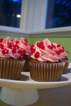 Dr. Pepper Red Vine Cupcakes